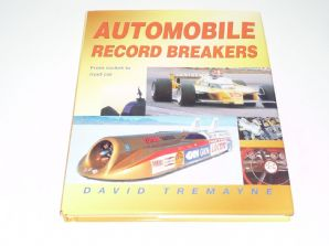 AUTOMOBILE RECORD BREAKERS (Land Speed etc) Tremayne (small format)